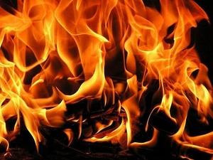 Мужчина госпитализирован после пожара в Канавинском районе