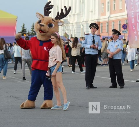 Молодость, дружба, творчество: как прошло открытие «Студенческой весны» в Нижнем Новгороде - фото 12
