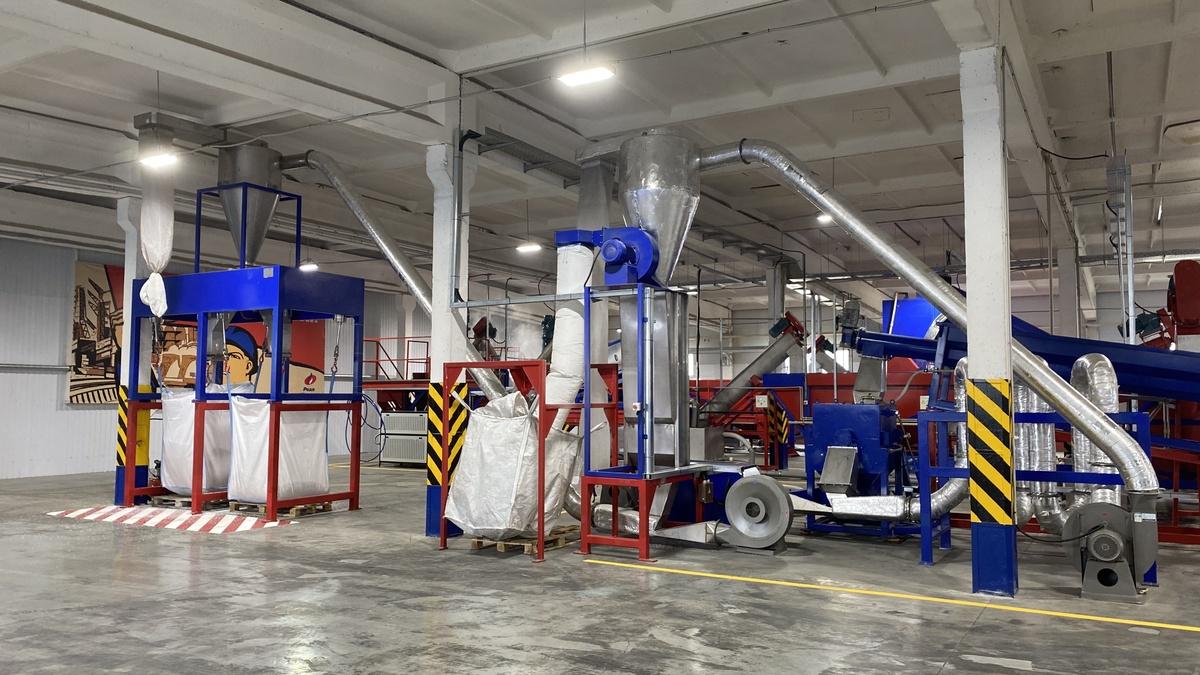 Вторую линию по переработке пластика запустили в работу в балахнинском технопарке - фото 1