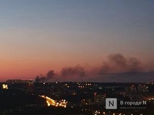 Еще один пожар разгорелся в центре Нижнего Новгорода