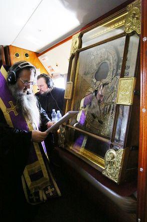 Митрополит Георгий совершил на вертолете крестный ход против коронавируса вокруг Нижегородской области - фото 4