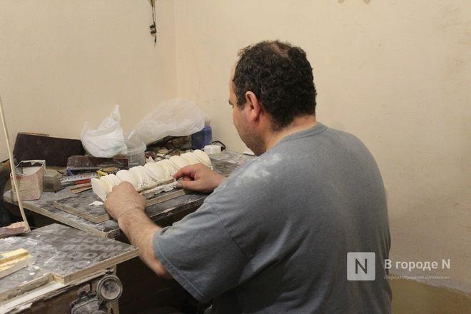 Реставрация исторической лепнины началась в нижегородском Дворце творчества - фото 16