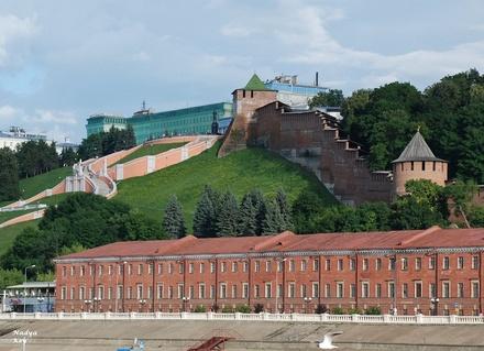 37 млн рублей выделили на проект благоустройства склонов кремля