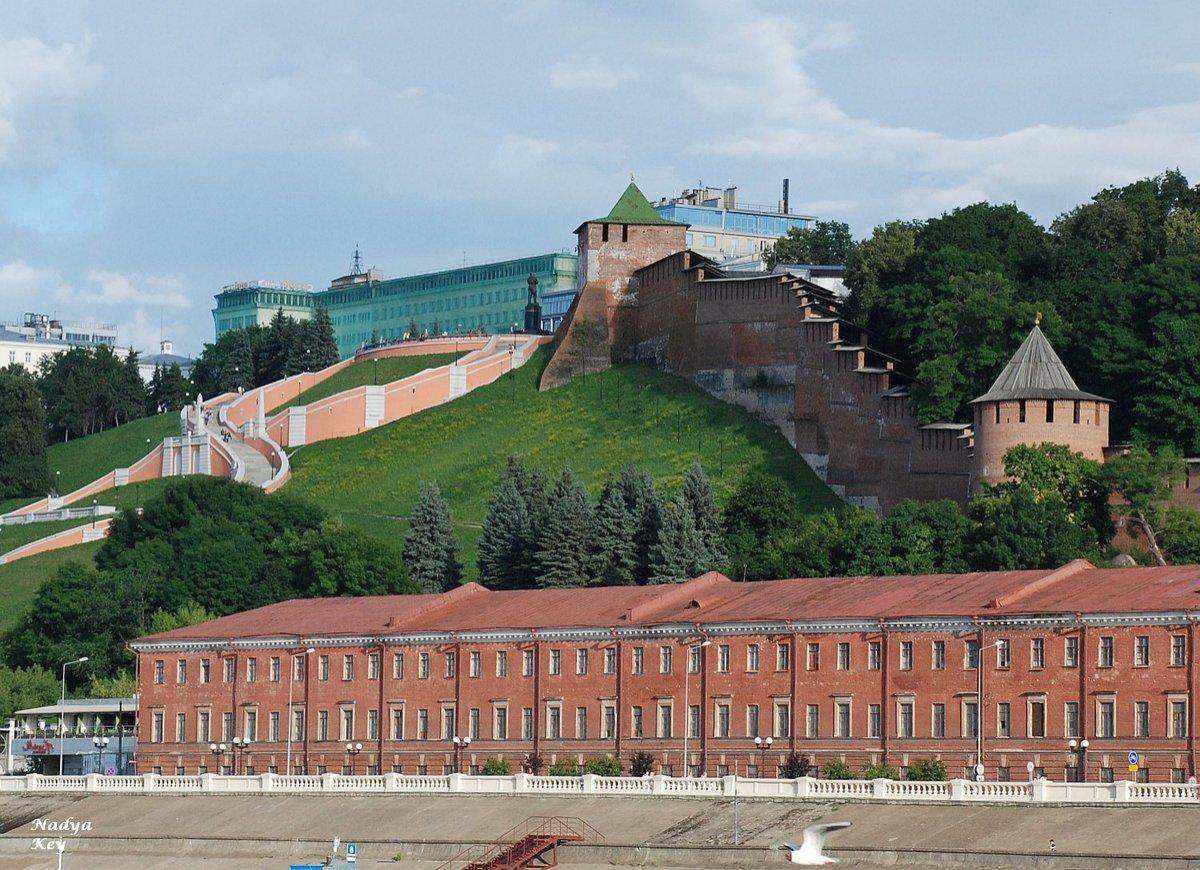 37 млн рублей выделили на проект благоустройства склонов нижегородского кремля  - фото 1
