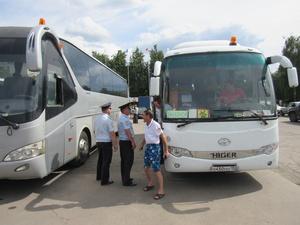 В Нижнем Новгороде обнаружили неисправность тормозов в автобусе для перевозки детей (ФОТО)