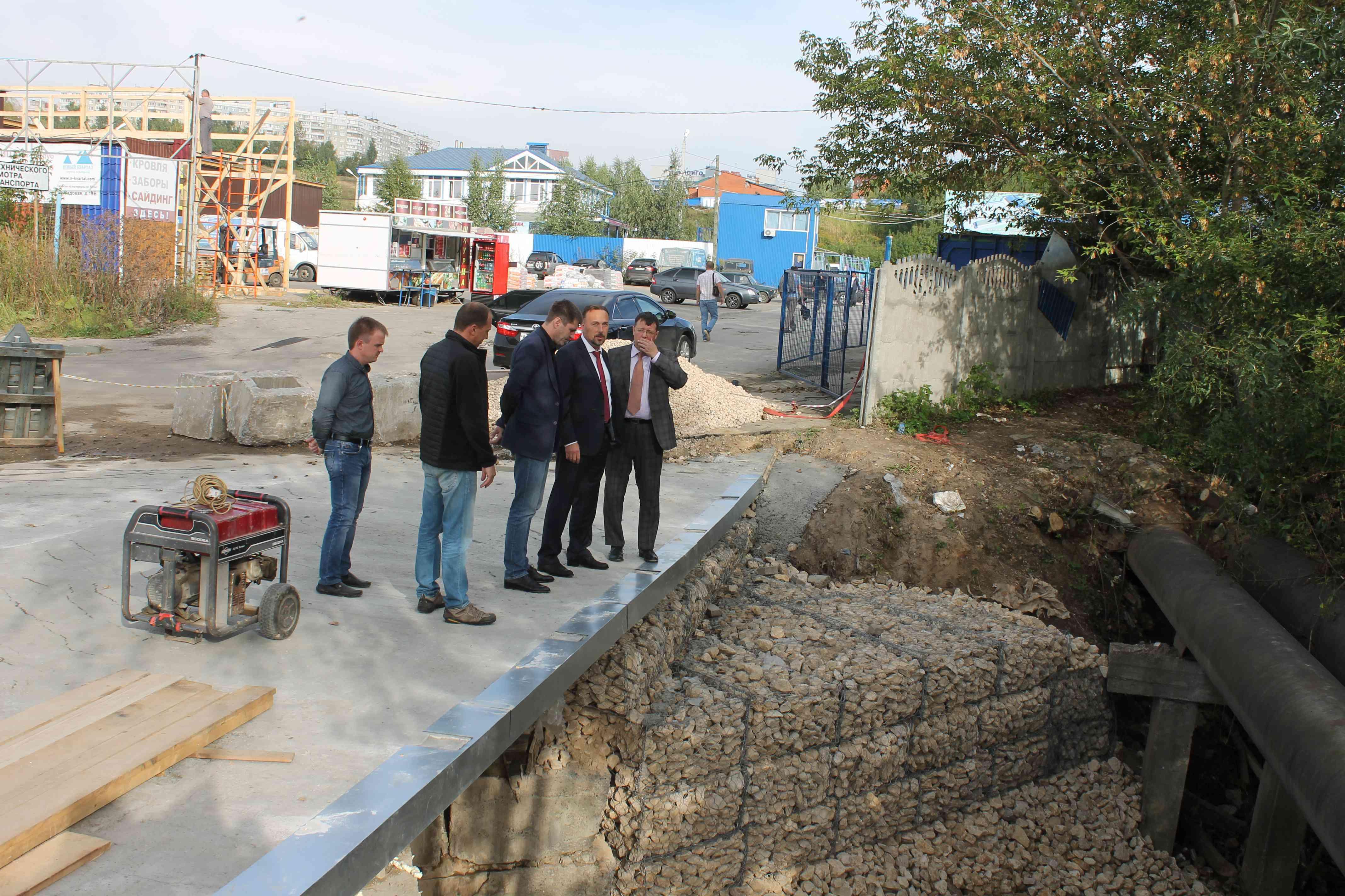 Работы пореконструкции мостовой переправы крынку «Герц» завершат доконца месяца