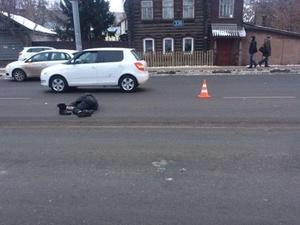 В Сормовском районе иномарка насмерть сбила пешехода