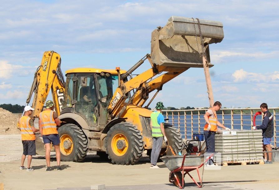 Окскую набережную в Нижнем Новгороде благоустроят до 15 июля - фото 1