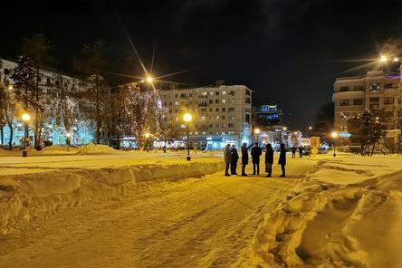 Сквер на площади Горького в Нижнем Новгороде начнут благоустраивать весной