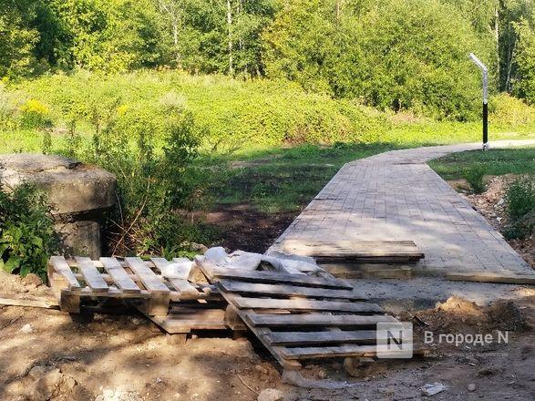 Благоустройство Лопатинского оврага планируется завершить в начале сентября - фото 27
