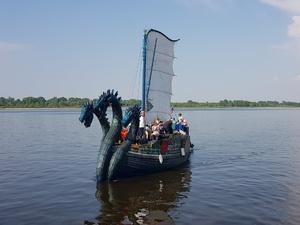 Древнерусская ладья «Змей Горыныч» сделала остановку в Нижнем Новгороде
