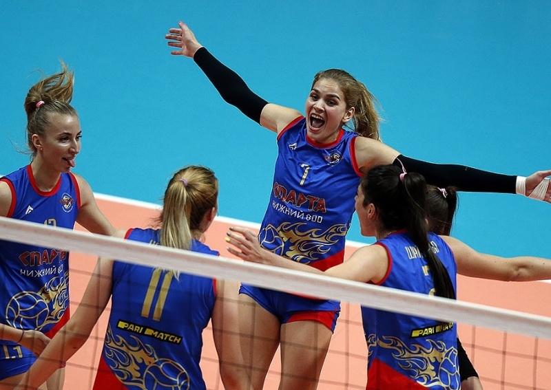 Нижегородская «Спарта» одержала первую победу в Суперлиге - фото 1