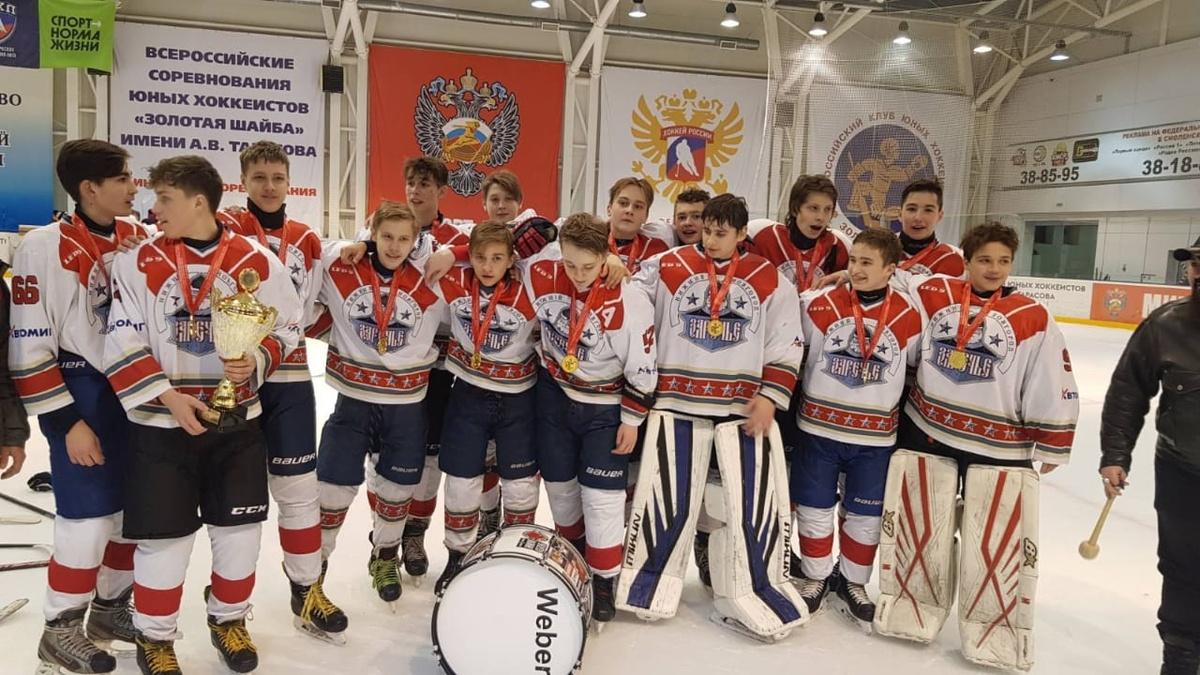 Юные хоккеисты Нижнего Новгорода стали победителями «Золотой шайбы» - фото 1