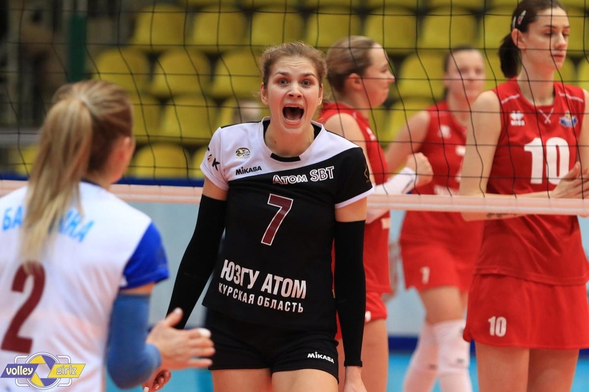 Доигровщица Анастасия Жукова подписала контракт с нижегородской «Спартой» - фото 1