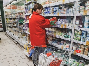 Почти на 9% увеличился размер среднего чека в нижегородских продуктовых магазинах