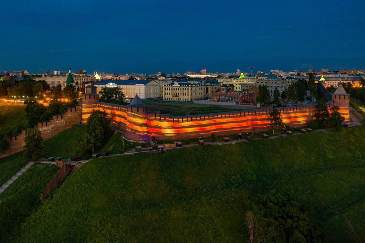Георгиевская ленточка украсит Нижегородский кремль ко Дню Победы - фото 1