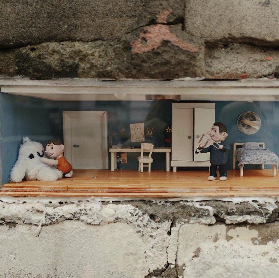 Новая миниатюра художника Ивана Серого появилась в Нижнем Новгороде
