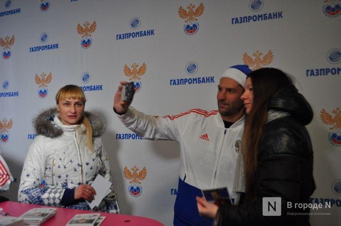 Ирина Слуцкая с ледовым шоу открыла площадку «Спорт Порт» в Нижнем: показываем, как это было - фото 46