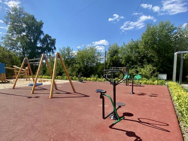 Благоустройство четырех территорий в Нижегородском районе завершено на 80% - фото 1