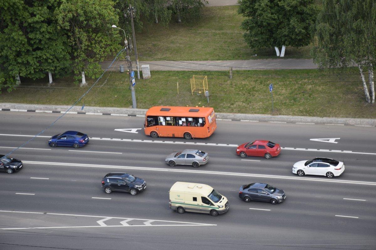 Выделенная полоса на проспекте Гагарина будет работать только по будням - фото 1