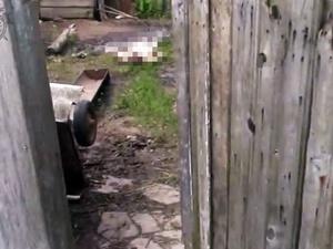 Жена зарезала пьющего мужа в Богородском районе и выбросила его тело на улицу