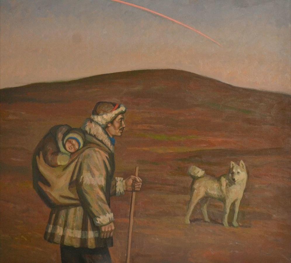 80 картин якутского художника привезут в Нижний Новгород - фото 1