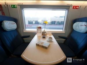 Модернизированный поезд «Сапсан» отправился в первый рейс