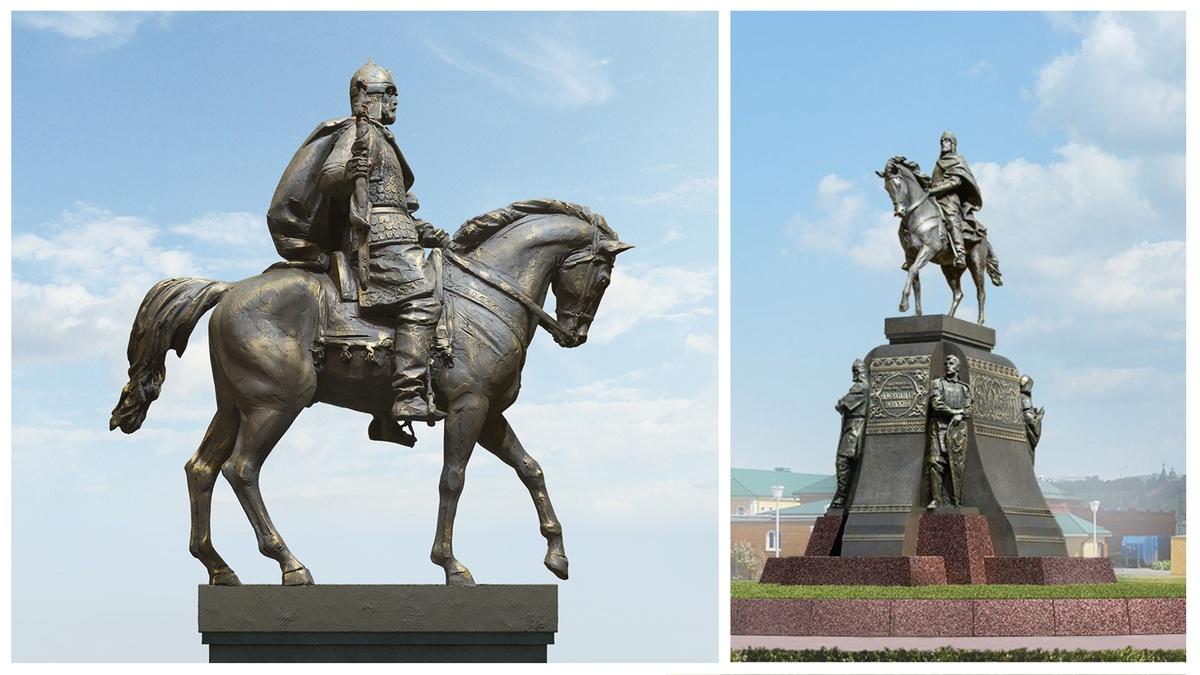 Эскизы проектов памятника Александру Невском показали нижегородцам - фото 2