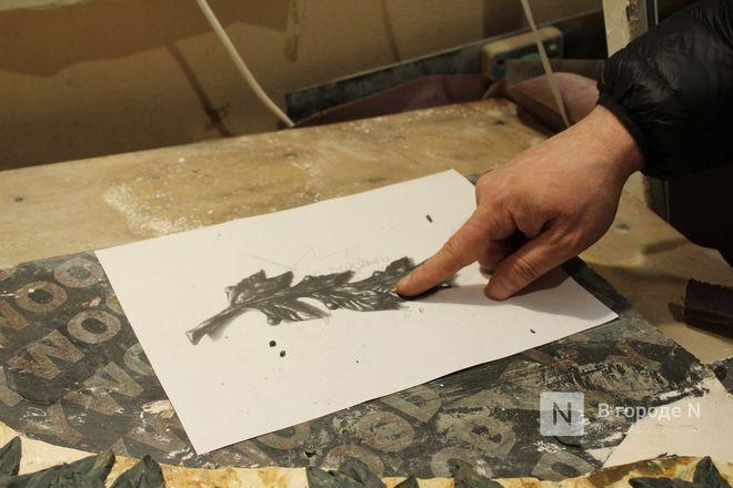 Реставрация исторической лепнины началась в нижегородском Дворце творчества - фото 29