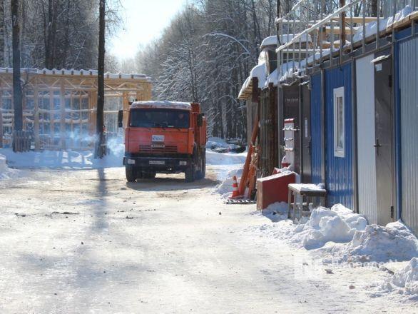 Более 240 рабочих благоустраивают нижегородскую «Швейцарию» - фото 26