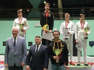 Нижегородец завоевал бронзу на европейском турнире по фехтованию