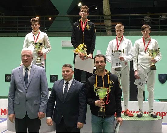 Нижегородец завоевал бронзу наевропейском турнире пофехтованию