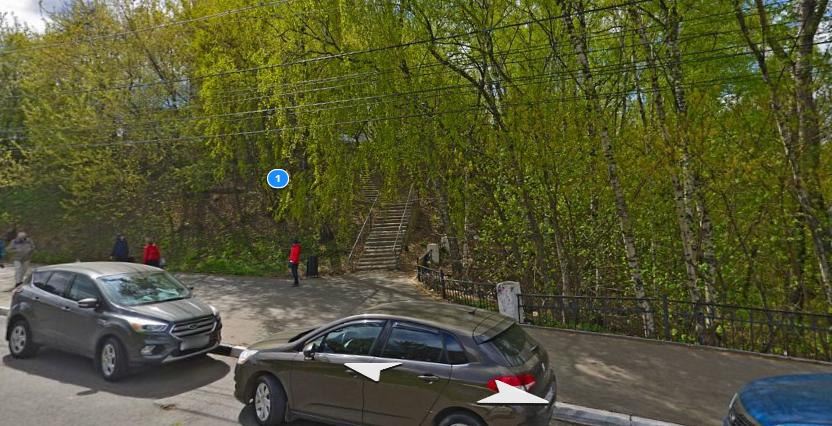 Лестницу на улице Октябрьской в Нижнем Новгороде отремонтируют в 2021 году - фото 1