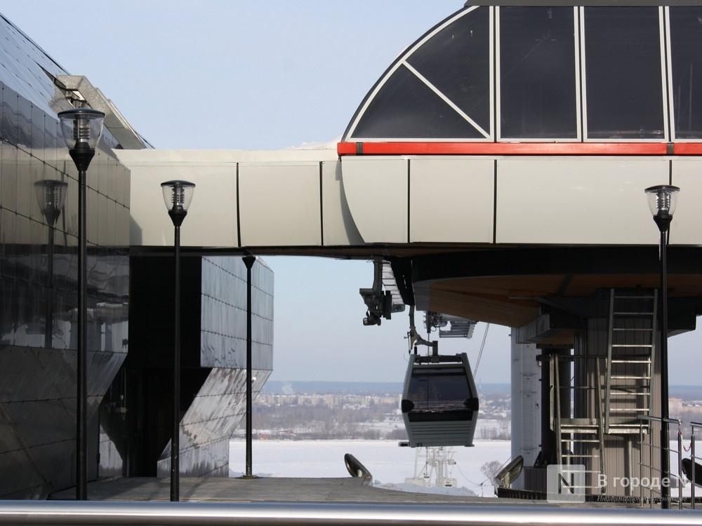 Деревянные павильоны и скульптуру предложено установить около нижегородской станции канатной дороги - фото 1