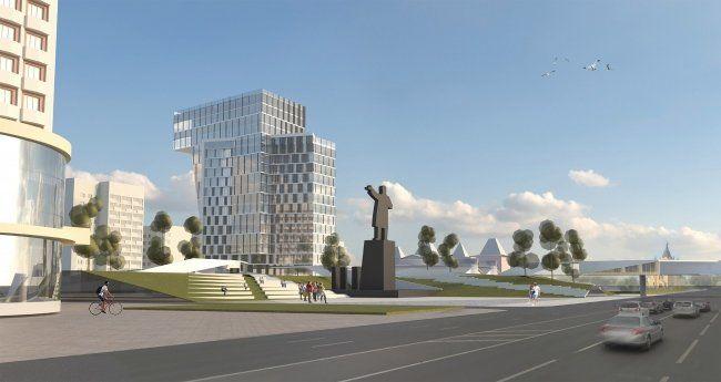 Нижегородские архитекторы представили концепцию благоустройства площади Ленина - фото 1