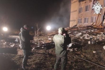 СК возбудил уголовное дело по факту разрушения дома в Дальнеконстантиновском районе