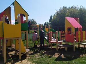12 детских городков появились в Сормове