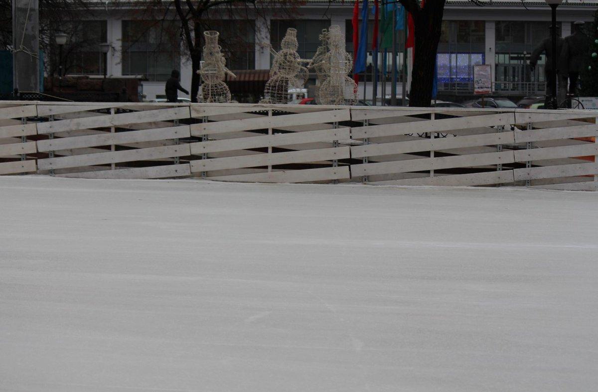 Более 10 тысяч нижегородцев посетили каток и шестиметровую горку в новогодние праздники - фото 1