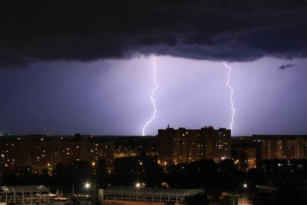 Грозы и ливни накроют Нижегородскую область 14 июня