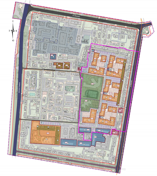 Более 20 домов, два садика и школу планируется построить в нижегородском ЖК «Зенит-2» - фото 1