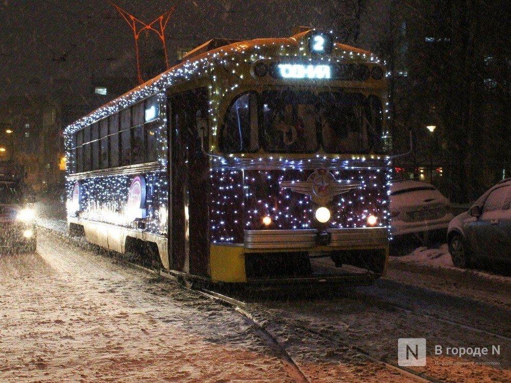 Нижегородский общественный транспорт будет работать в новогоднюю ночь - фото 1