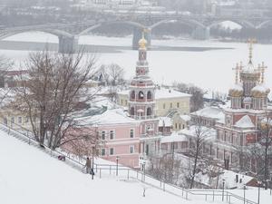 Сильная метель накрыла Нижегородскую область