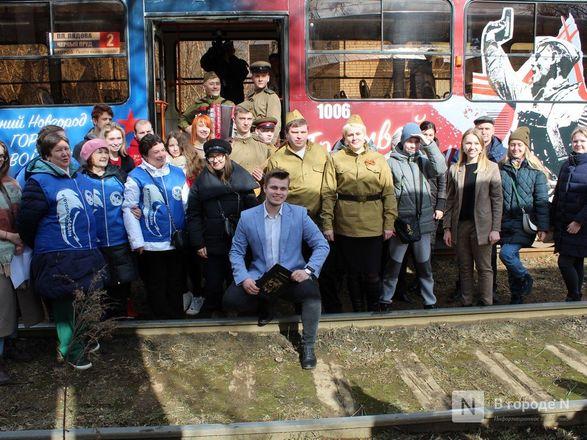 «Трамвай Победы» начал ходить по Нижнему Новгороду - фото 24