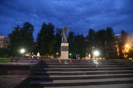 Подсветку пяти памятников смонтировали в Нижнем Новгороде