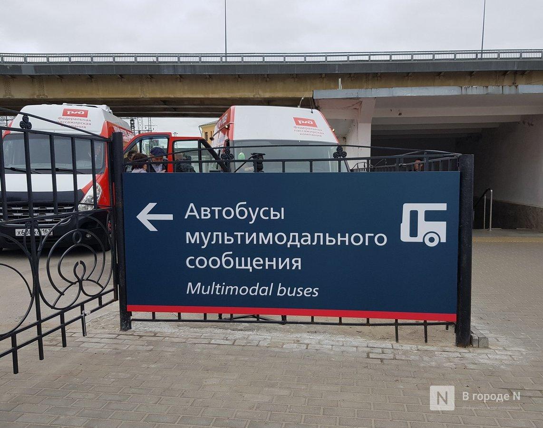 С поезда на автобус: в Нижнем Новгороде появились мультимодальные перевозки пассажиров - фото 8