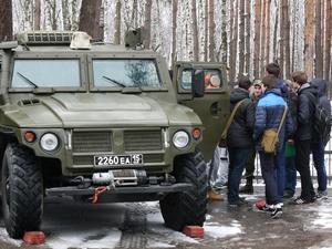 Военную технику представят в Сормовском парке в День защитника Отечества