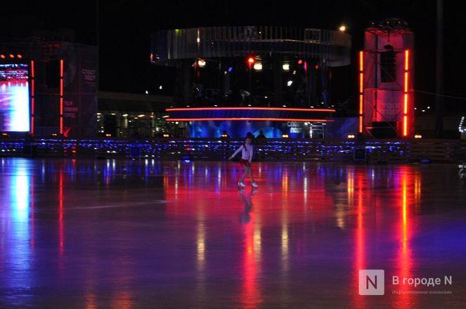 Ирина Слуцкая с ледовым шоу открыла площадку «Спорт Порт» в Нижнем: показываем, как это было - фото 27