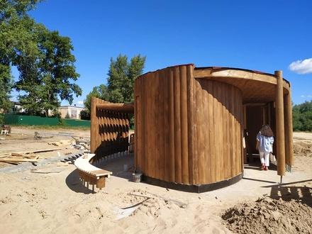 Пляж у затона 25-летия Октября в Нижнем Новгороде будет похож на курорт Испании