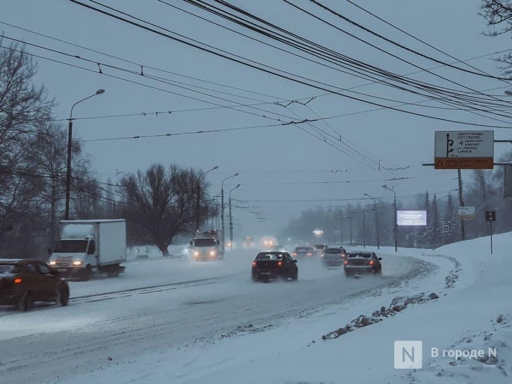 Рекордное количество снега выпало в Нижнем Новгороде в феврале - фото 1