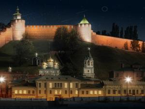 Стало известно, как будет выглядеть подсветка Нижегородского кремля за 75 млн рублей